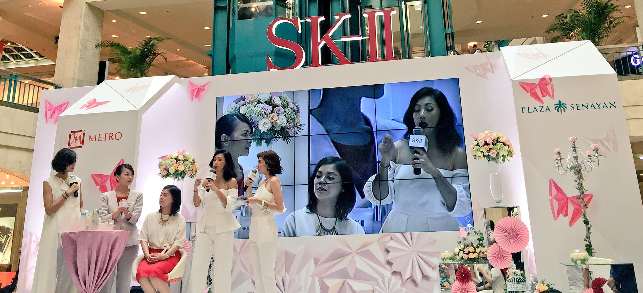 Make up Tutorial, SK-II, FTE, Spring Butterfly