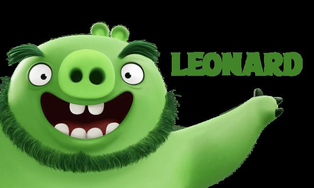 Leonard, angry bird, mevie