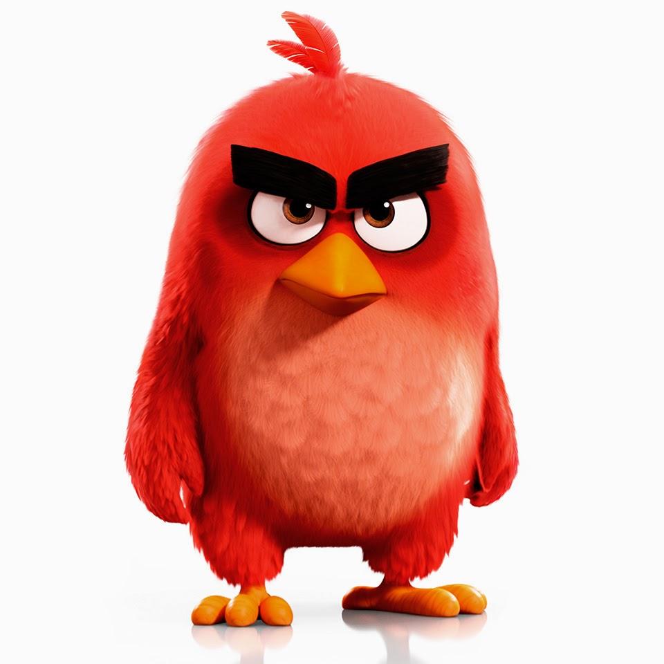 Red, angry bird, movie