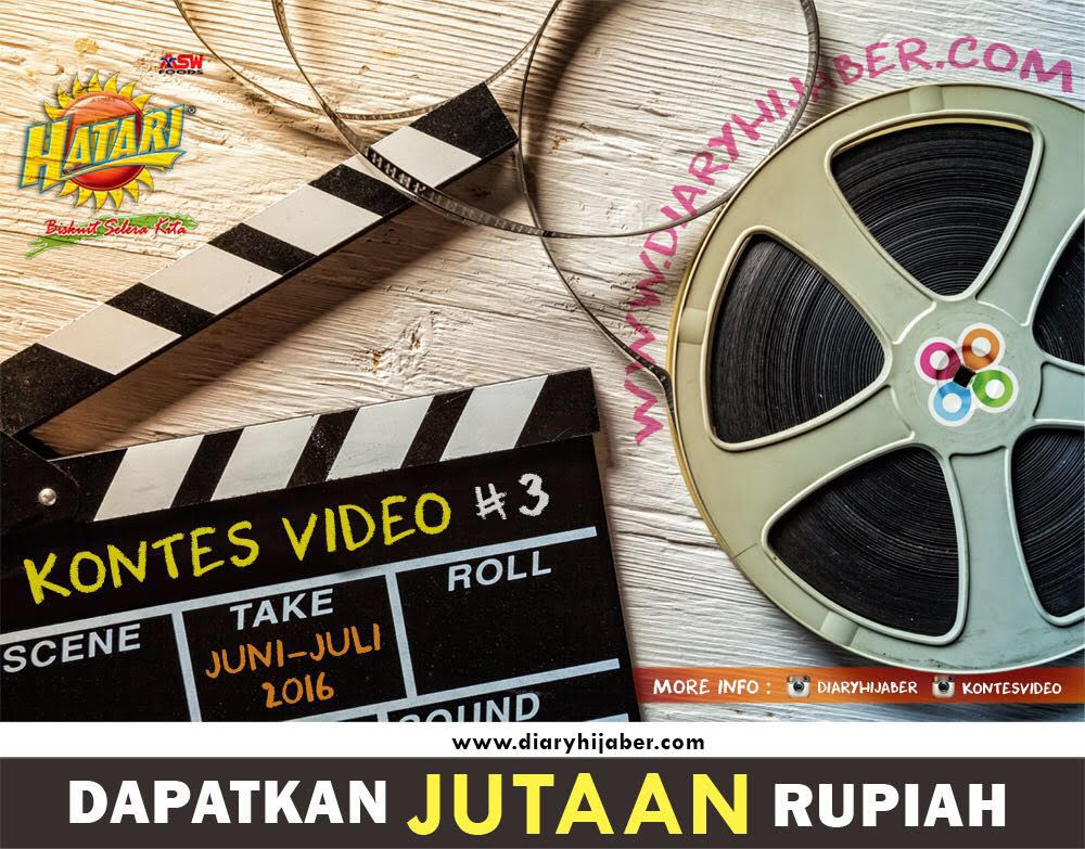 Video Contest, diaryhijaber, hijaber, muslimah