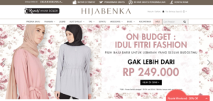 Hijabenka, e-commerce, fashion,