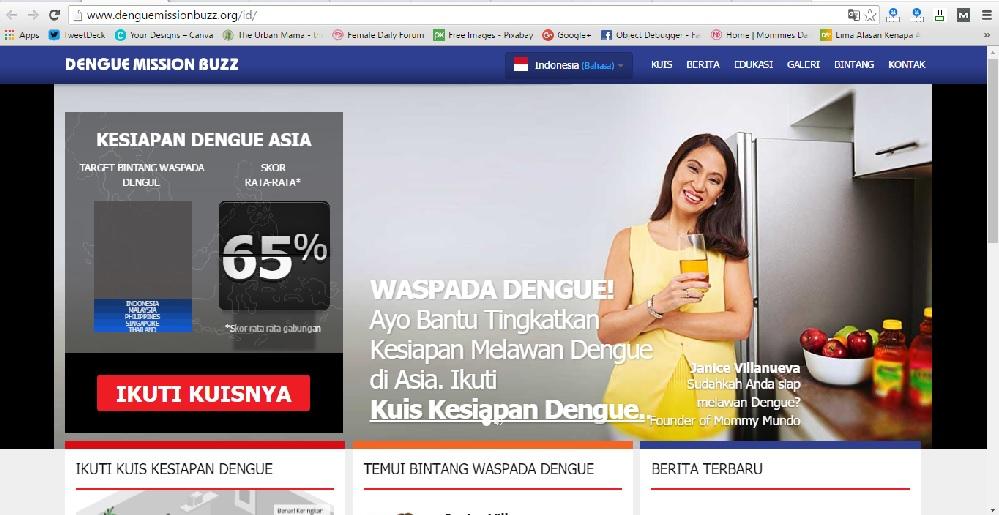 DBD, Website, Informasi DBD, Dengue, Demam Berdarah