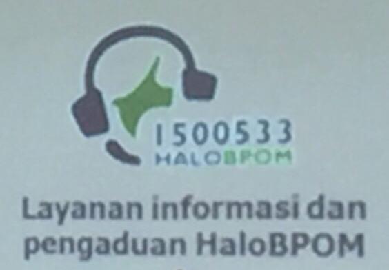 Layanan Informasi, Call Centre, BPOM