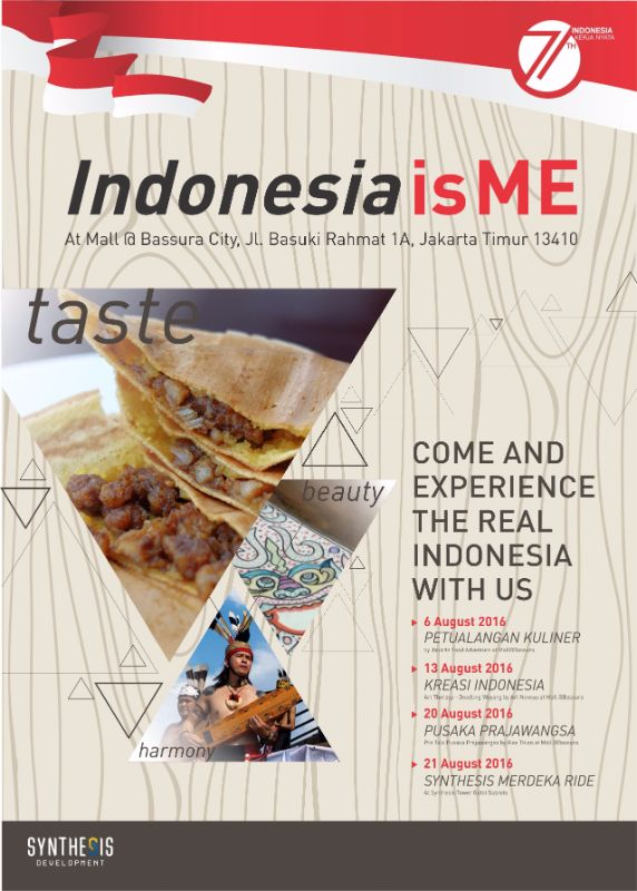 Rangkaian acara Indonesia is Me