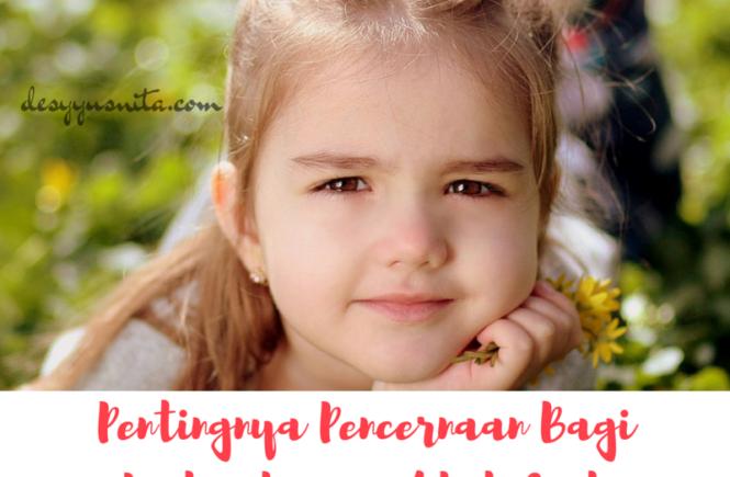 Pencernaan, Perkembangan Otak Anak