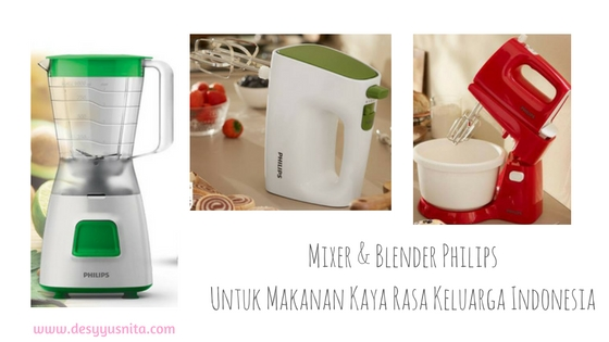 Philips Mixer & Blender, Kaya Rasa, Keuarga, Peralatan RumahTangga
