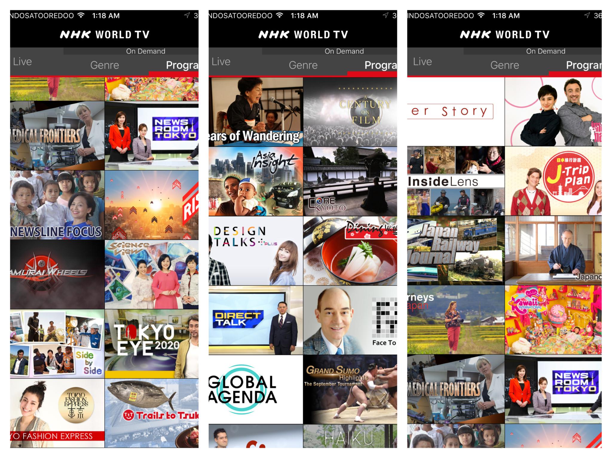 NHK World, NHK World Japan, Domonhk, Domo, Jepang, Japan, Streaming