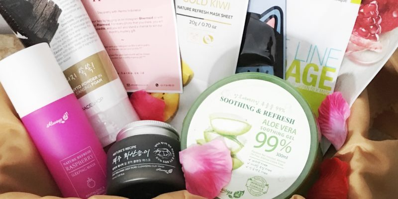Unboxing Hermo Box & Review Always 21 Aloe Vera Soothing Gel