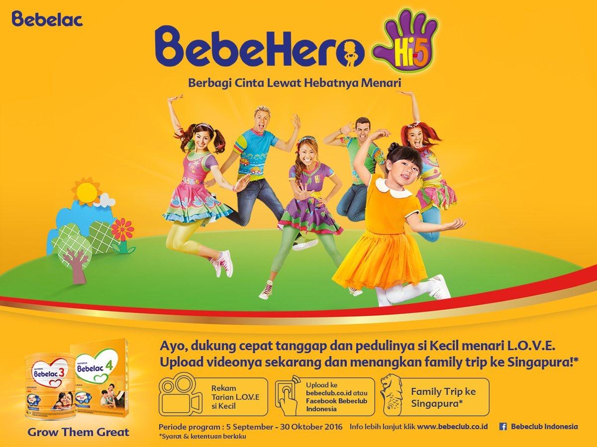 Bebehero, Dance Competition, Hi5, Bebelac, Kids, Menari, Dance