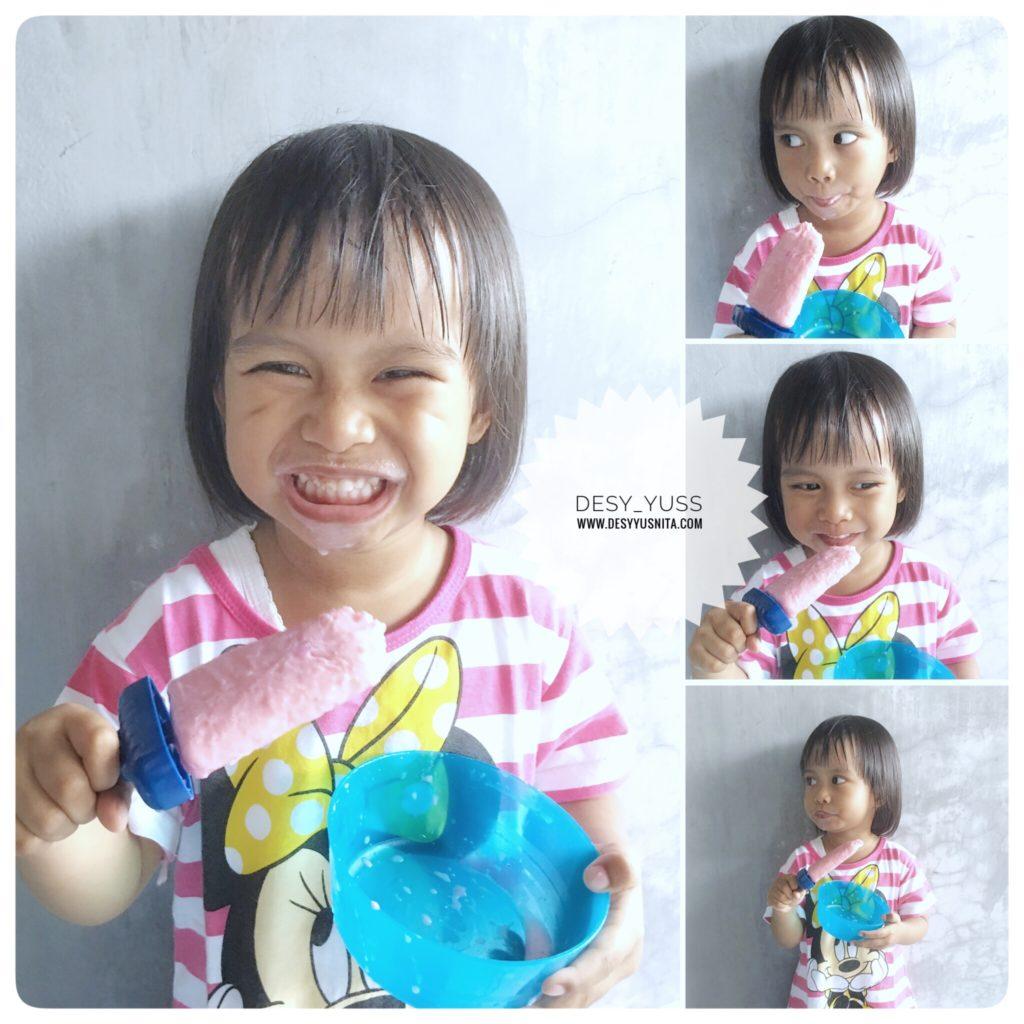Popsicle, Smoothies, Philips, #SerunyaMakanBuah, #PhilipsHealthyTips, Family, Motherhood