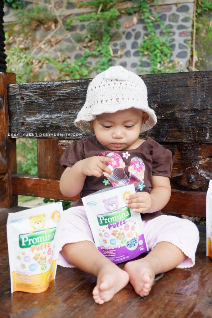 Promina Puff, Snack Sehat, Snack Praktis, Cemilan Bayi, Lumer di Mulut, Cemilan Bayi Sehat
