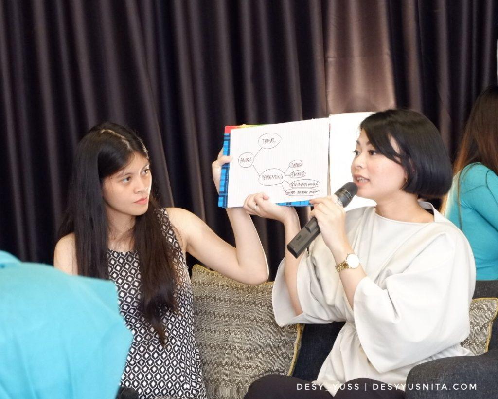 Tinkerlust, Workshop, Creative Writing, Andra Alodita, Blogging, Blogger, Wardah, Kinosaurus