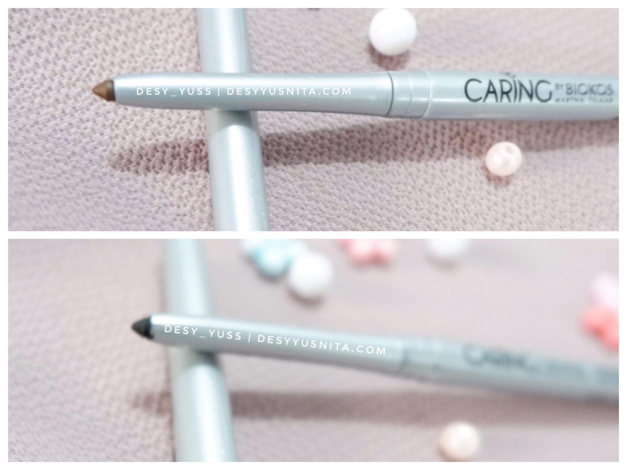 Automatic Eyeliner Caring by Biokos, skin care make up, kosmetik, make up, treatment, eyeliner, mata, Caring, Biokos