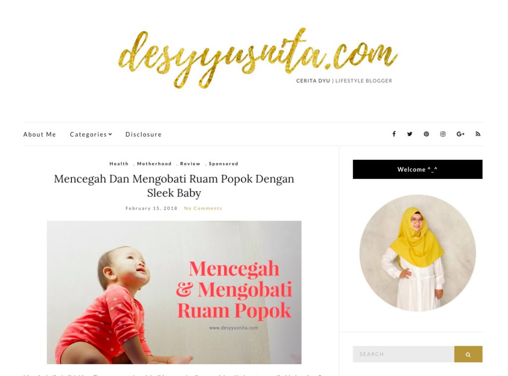 Desy Yusnita, Blog, Lifestyle Blogger, Blogger, Pelajaran Favorit