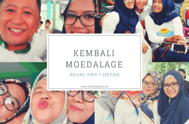 Moedalage, Alumni, SMP 1 Depok, Reuni