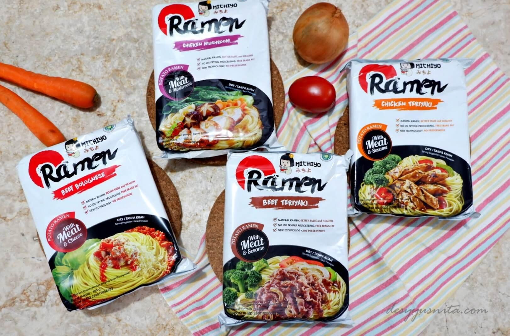 Review, Michiyo Ramen, Ramen Sehat, Ramen Tak Berkuah, Ramen Jepang, Kuliner, Makanan,