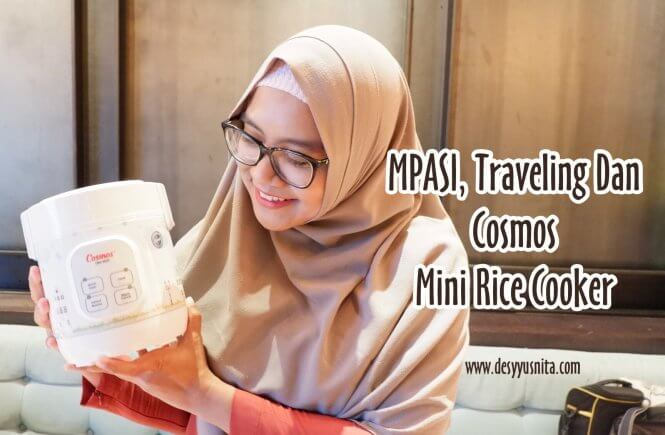 Digital Mini Rice Cooker Cosmos, MPASI, Traveling, Peralatan MPASI, Perlengkapan MPASI,