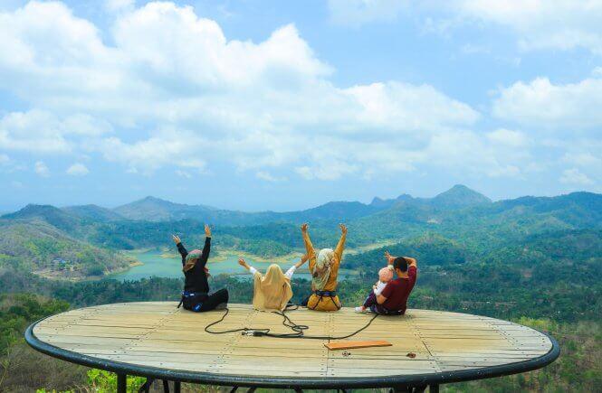 Kalibiru, Wisata alam kalibiru, Jogjayarta, Yogyakarta, Tujuan wisata di Yogya