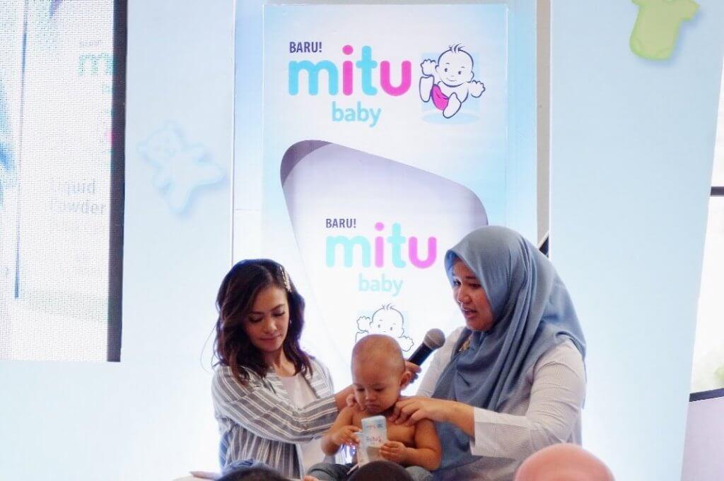 Mitu Baby, Mitu, Bedak Cair, Mitu Baby Liquid Powder
