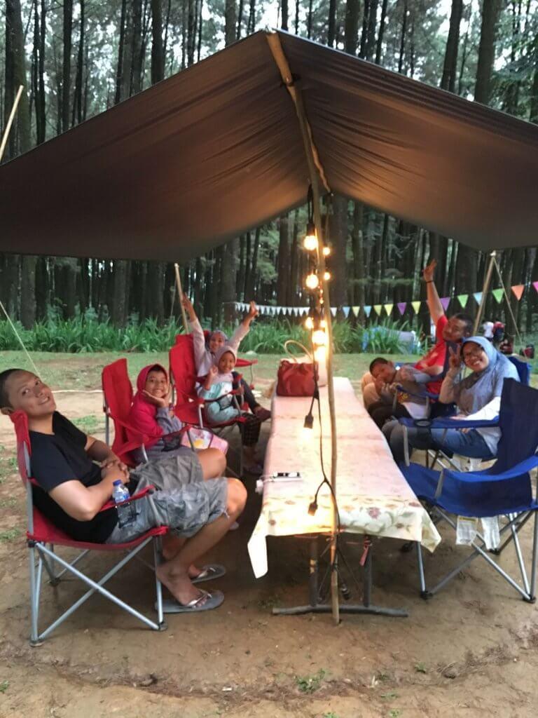 Glamping di Gunung Pancar, Wisata Alam di Sentul
