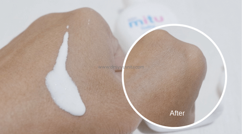 Mitu Baby Liquid Powder, review