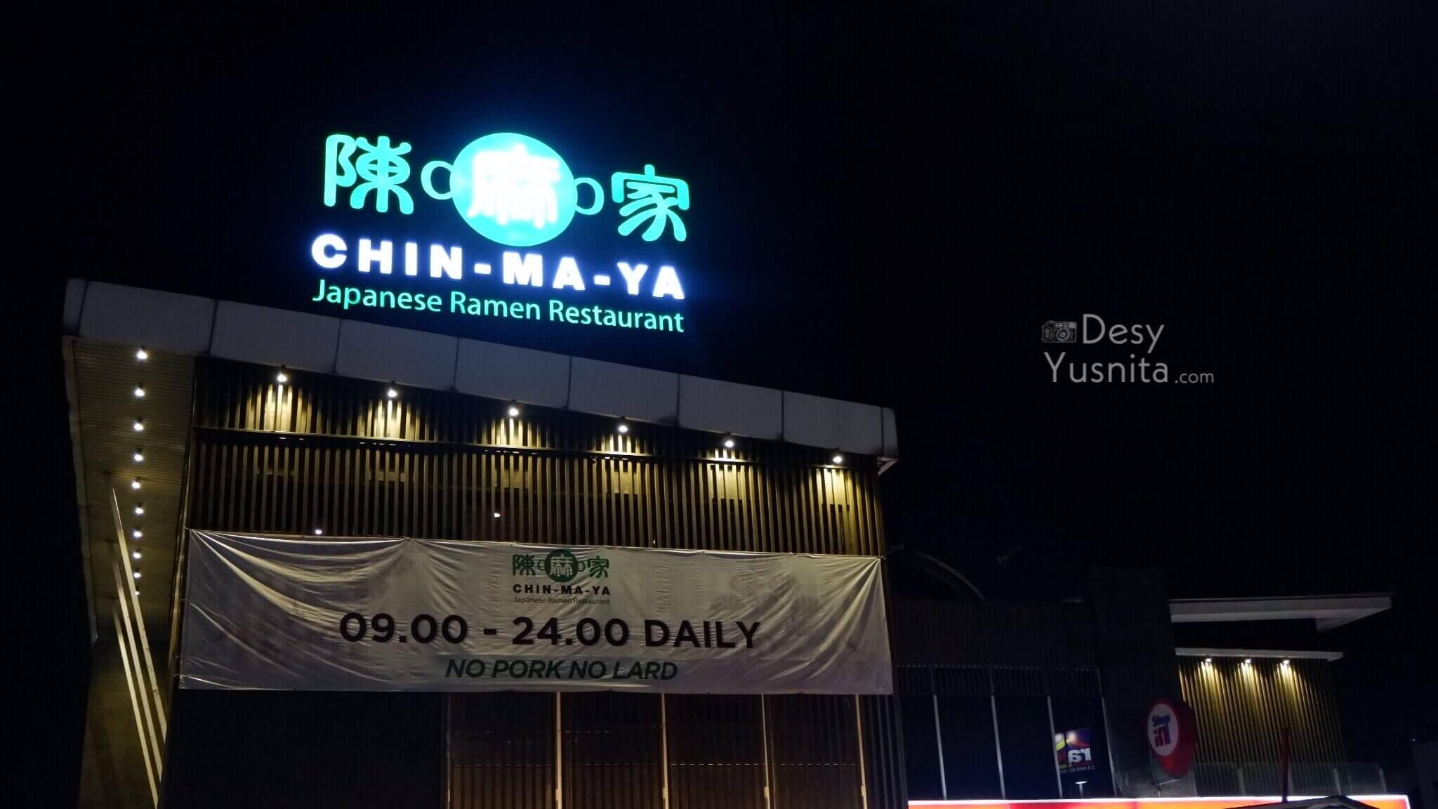 Restoran Ramen di Serpong-Chin Ma Ya Ramen Halal