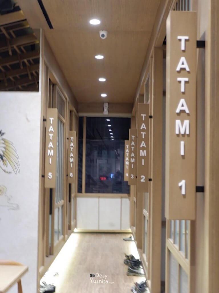 Restoran Ramen di Serpong-Chin Ma Ya Tatami Room
