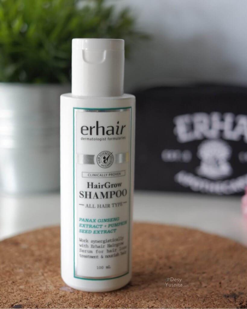 Erhair HairGrow Shampoo, Erhair, Erha, Kerontokan Rambut