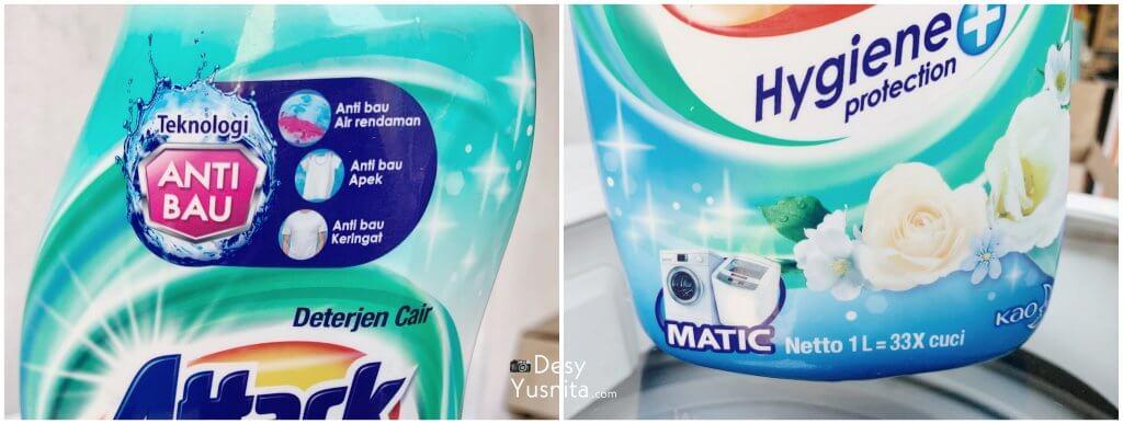 Teknologi baru attack, mencuci pakaian