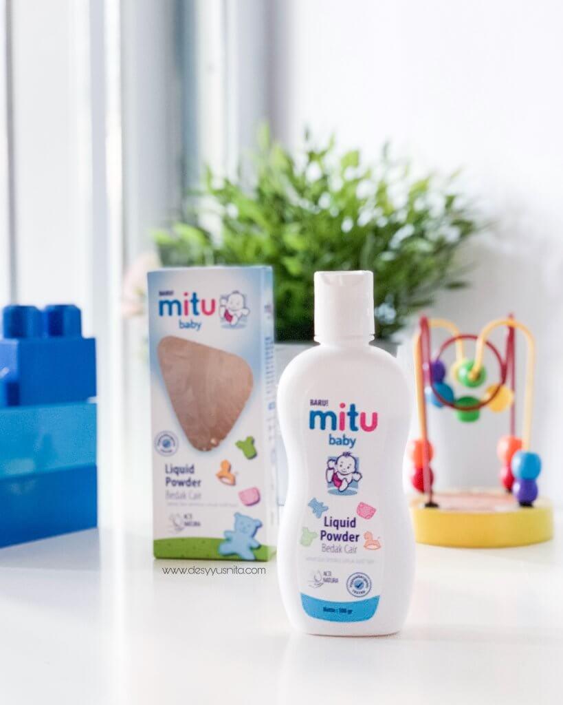 Mitu Baby Liquid Powder, Bedak Cair Bayi