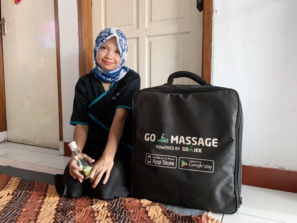Terapis GoMassage, GoMassage