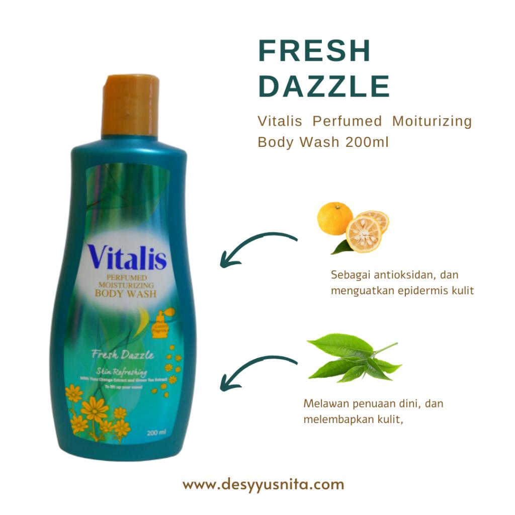 Vitalis Parfumed Moisturizing Body Wash, Fresh Dazzle