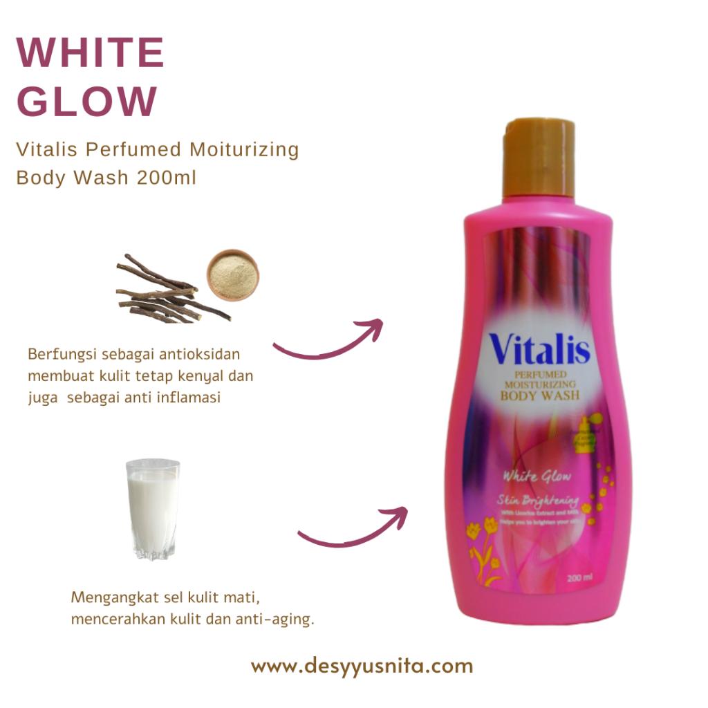White glow, Vitalis Perfumed Moisturizing Body Wash