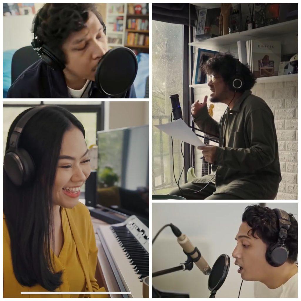 Iklan IM3 Ooredoo, Ramai Sepi, Yura Yunita, Kunto Aji