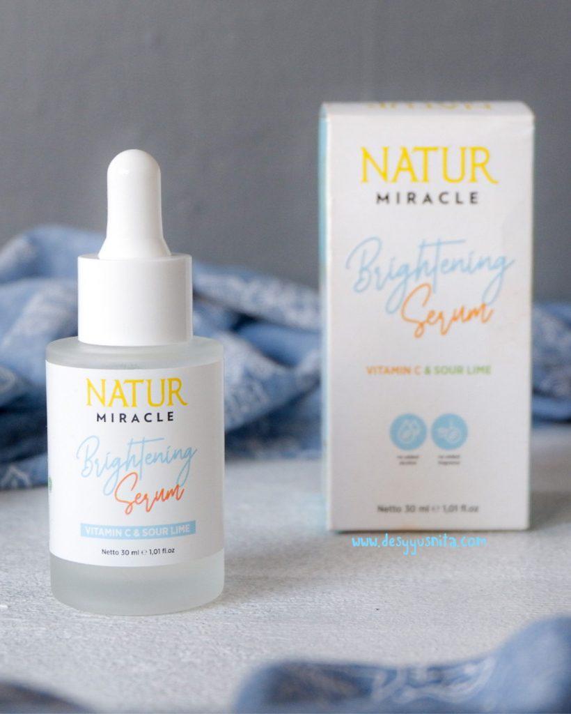 Natur Skin Care, Natur Miracle Brightening Serum, Natur Miracle
