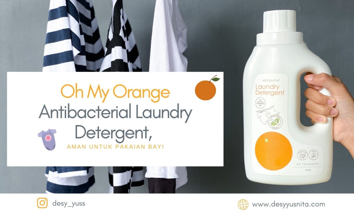 Oh My Orange Antibacterial Laundry Detergent