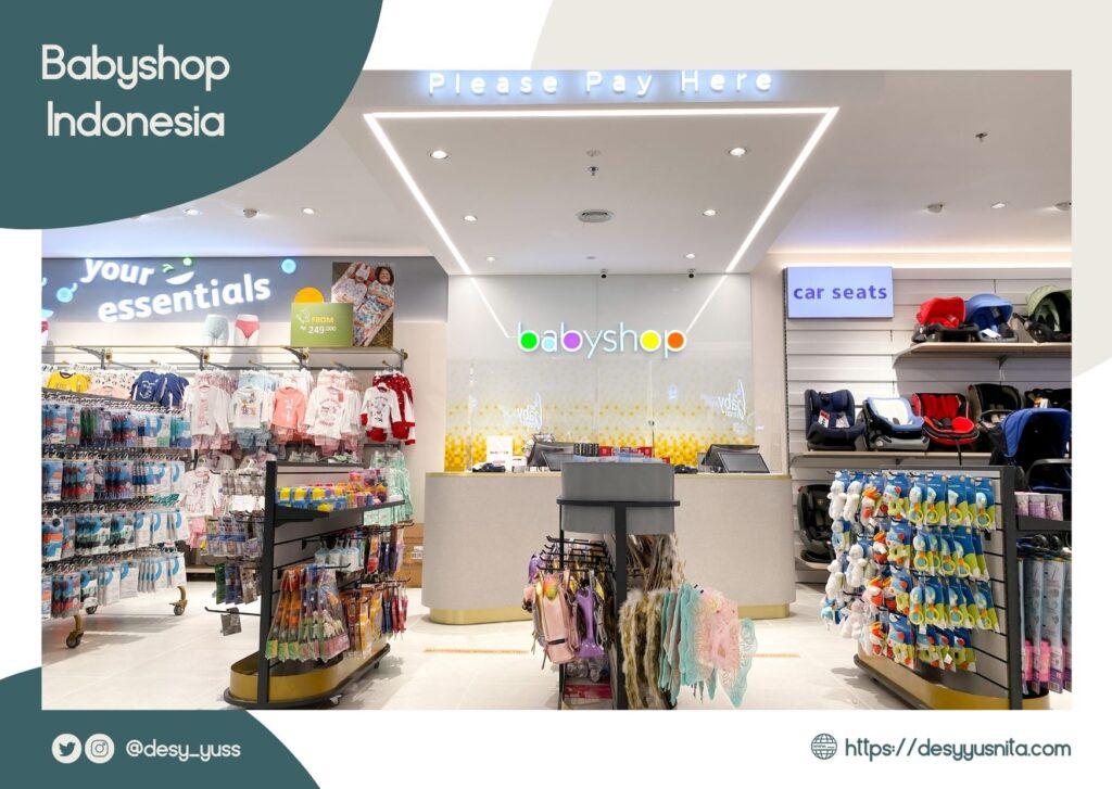 Area Gerai Yang Luas di Babyshop Indonesia