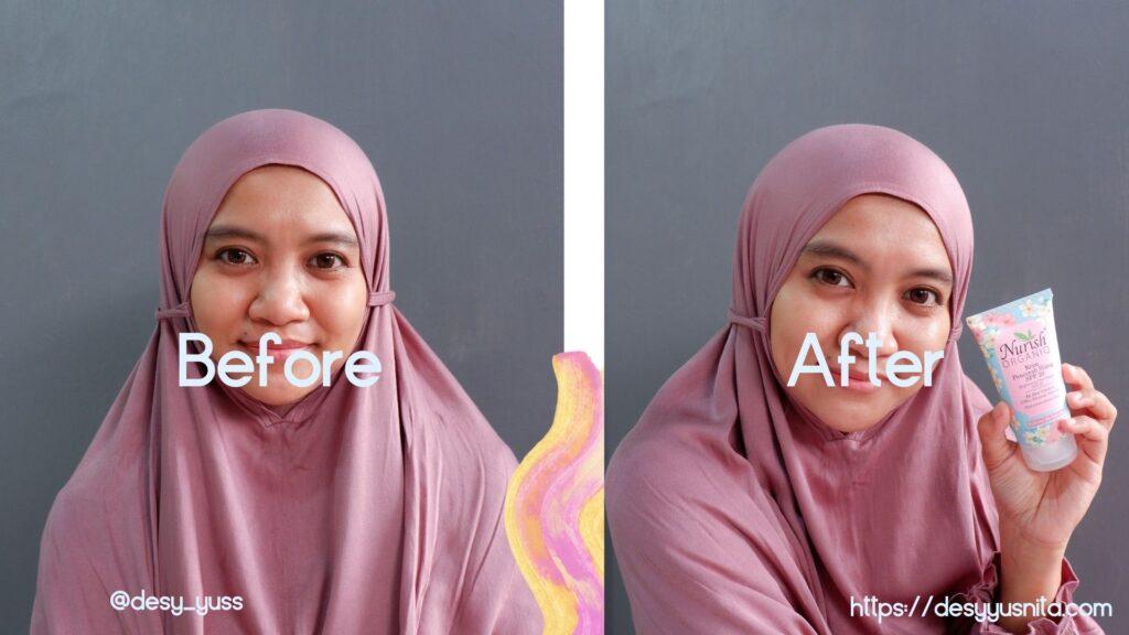 Setelah Pemakaian Day Crea, Skin Care Halal