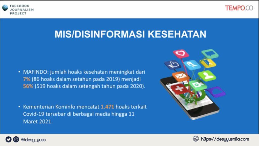 Mis/Disinformasi Kesehatan