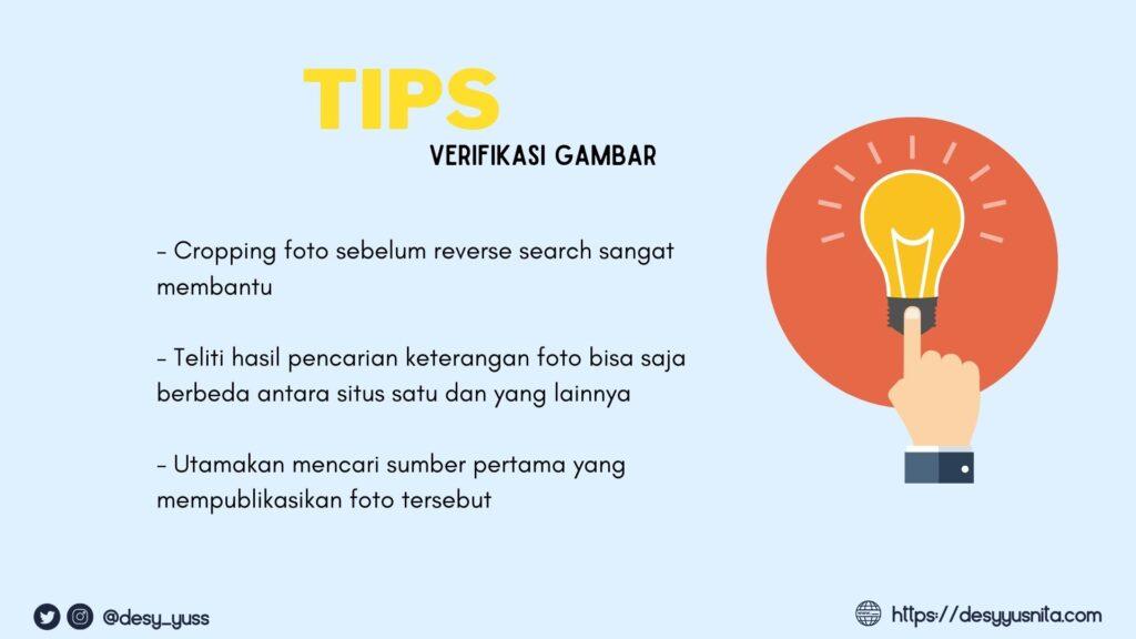 Tips Verifikasi Gambar