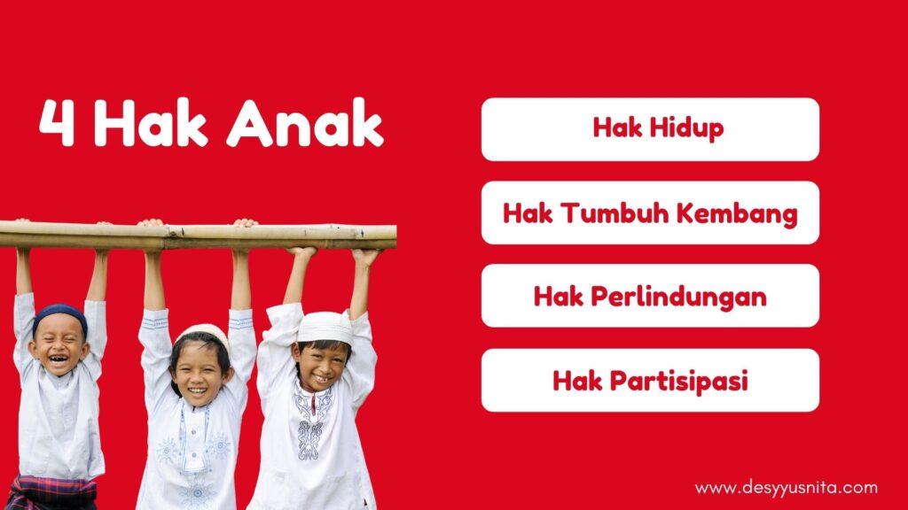 4 Hak Dasar Anak