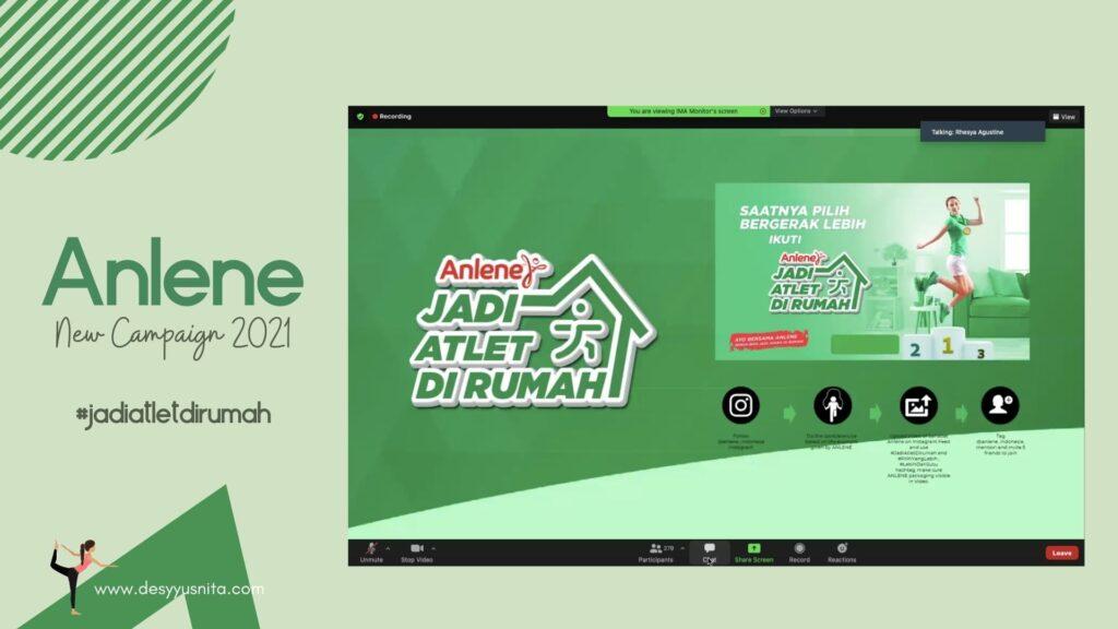 #JadiAtletDirumah 2021